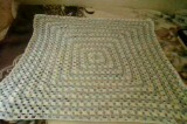 Giant Granny Square Baby Blanket Recipe
