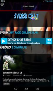 Svensk Chat - náhled