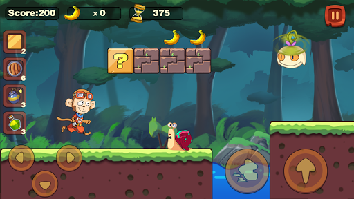 Monkey Run Adventure - Jungle Story - Banana World 1.0.0 screenshots 6