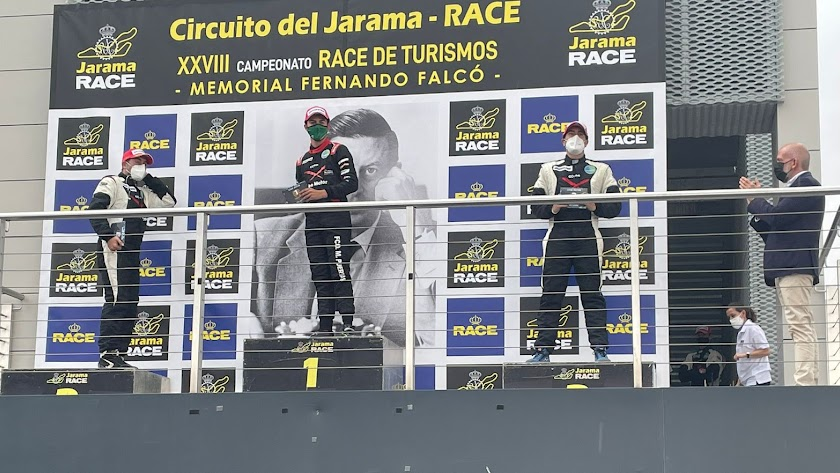 Dos veces subió a lo más alto del podio en el Jarama