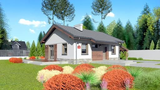 projekt Dom przy Przyjemnej bis