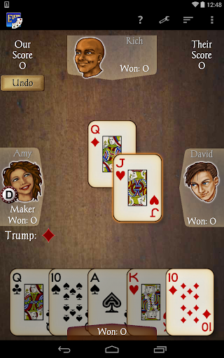 Euchre Free screenshot 19