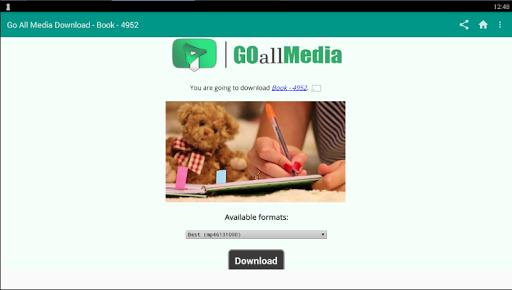 玩免費程式庫與試用程式APP|下載Go All Media downloader app不用錢|硬是要APP