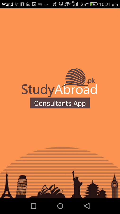 Study Abroad- screenshot
