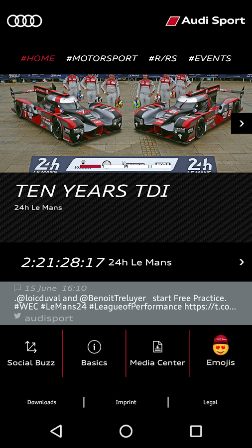 Audi Sport- screenshot