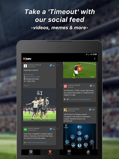 90min - Live Soccer News App  10