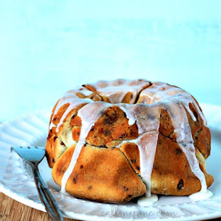 Sausage Cinnamon Roll Monkey Bread