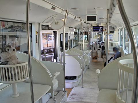両備ホールディングス 西大寺 太陽光電池バス「ソラビ」 1024 車内_01