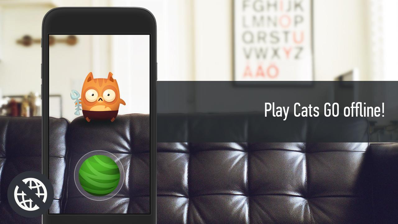 Cats GO: Offline- screenshot