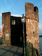 Photo: city wall turret fragment from 1318