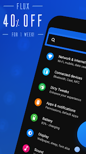 Flux - Substratum Theme Screenshot