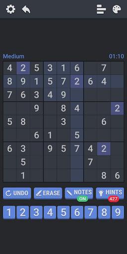 Medium Sudoku Puzzles 1.2.4 screenshots 7