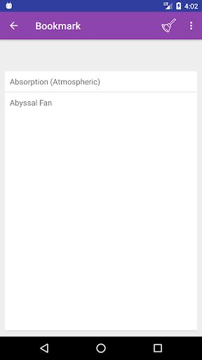 Screenshot 4 Geography Dictionary