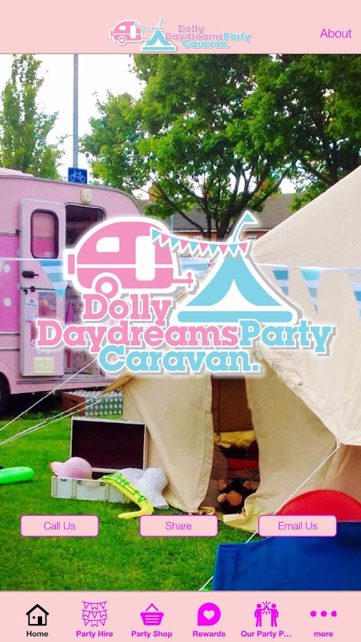 Dolly Daydream Party Caravan- screenshot