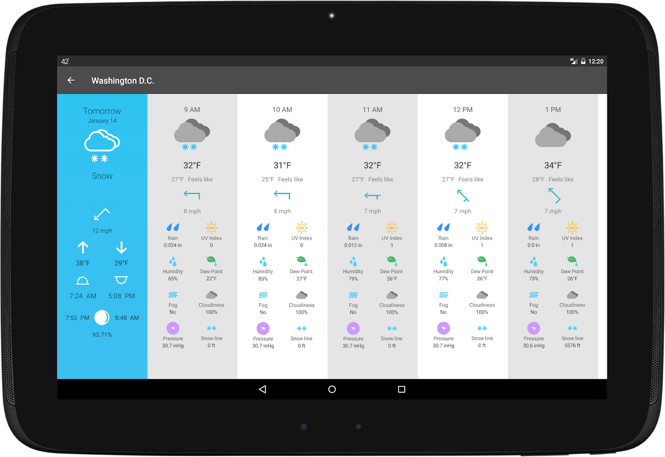 Weather 14 Days- screenshot