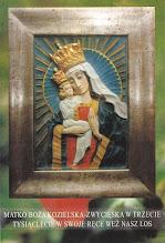 Photo: Obraz Matki Bożej Kozielskiej w kościele św. Andrzeja Boboli w Londynie.