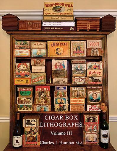 Cigar Box Lithographs Vol. 3 cover