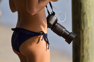 Photo: There were other photographers at the beach