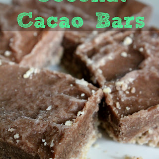 Coconut Cacao Bars.