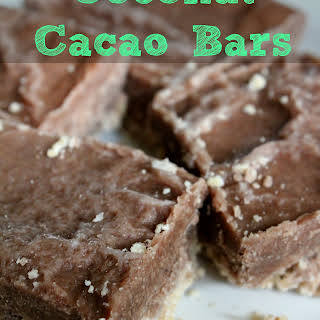 Coconut Cacao Bars.