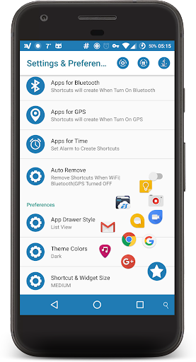 Shortcuts ᴾᴿᴼ app for Android screenshot
