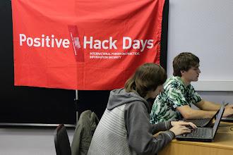 Photo: Positive Hack Days APE Team