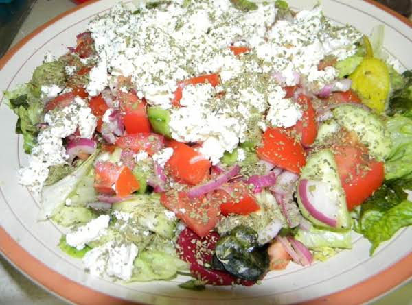 Lad's Greek Salad Recipe