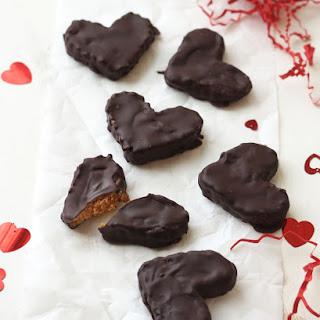 Vegan Reese's Peanut Butter Hearts