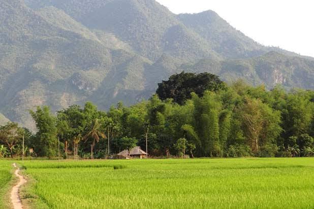 Biking in Mai Chau