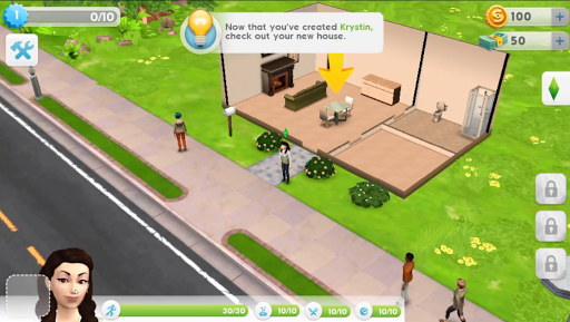 Match3 of bg Sims 4 Mobile for PC