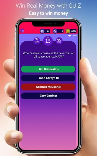 Win Real Money - Play GK Quiz Make Real Cash 6.0 screenshots 3