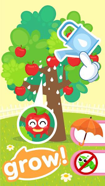Fruits Name & Kids Garden Farm