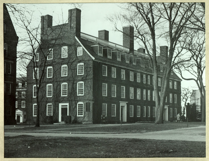 Mass Hall circa 1865.