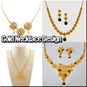 Gold Necklace Design icon
