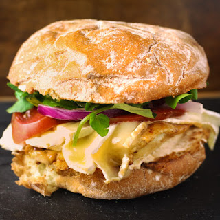 Chicken Brie Sandwich.