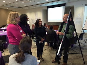 Photo: Participants develop elements of a Knowledge Management Strategy at the 3-day TOPS-hosted workshop last week.   Submitted by CORE Group