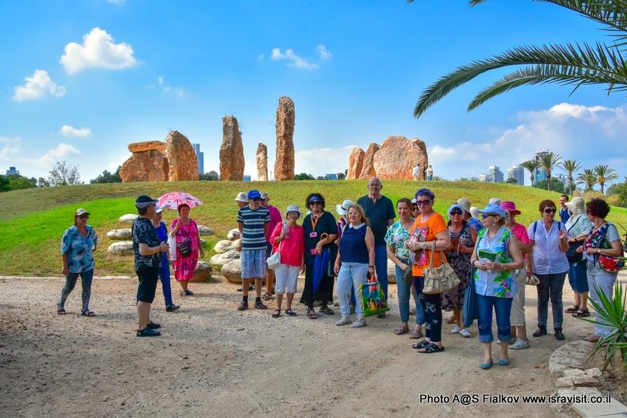 Экскурсия в Тель-Авиве Израильского гида Светланы Фиалковой. Сад кактусов и камней.