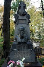 Photo: Dostoevsky's grave - St. Petersburg, Russia