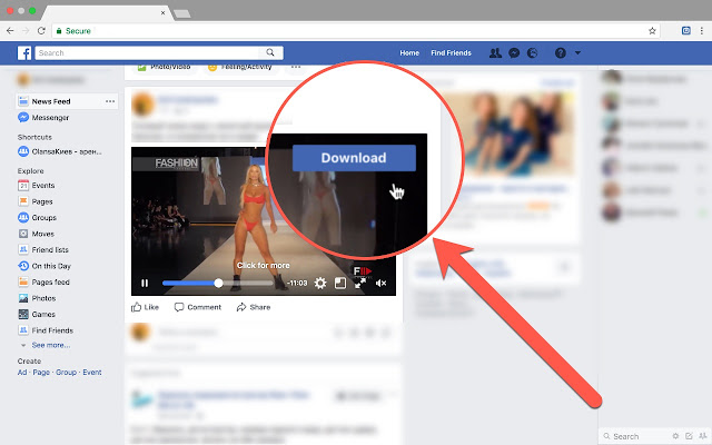 descargar facebook videos apk