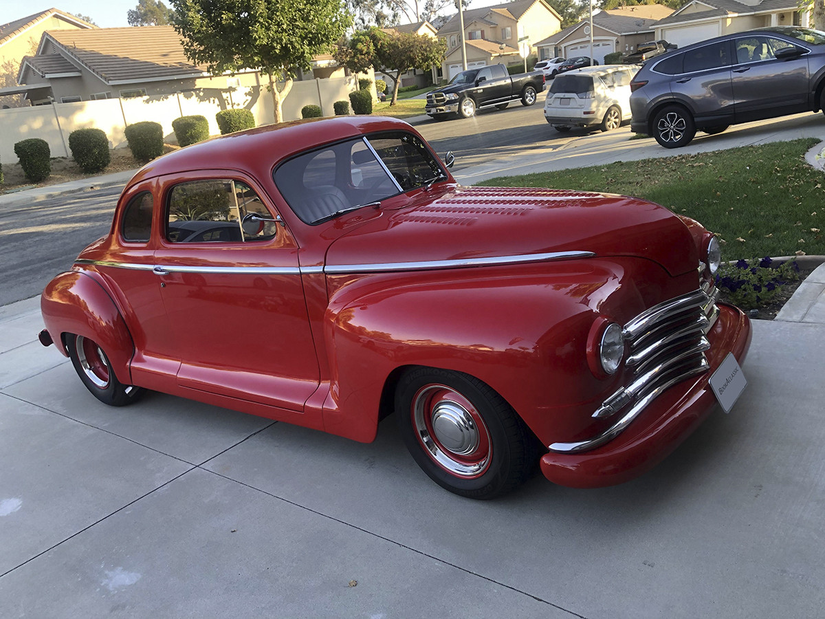 Plymouth Deluxe Coupe Hire Temecula