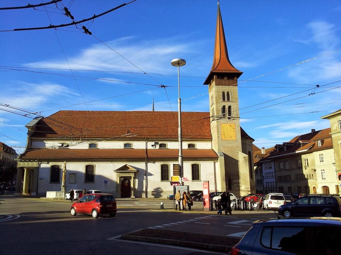 Basilique Notre-Dame à Fribourg