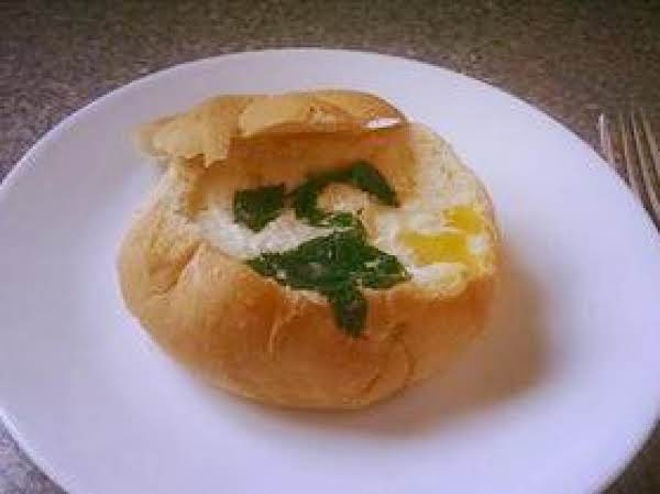 Ham Egg And Cheese Bread Bowls Recipe