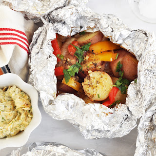 Grilled Foil Packet Potatoes