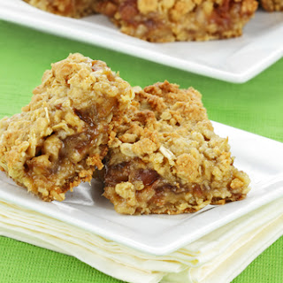 Sugar Free Banana And Date Flapjacks.