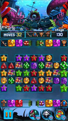 Jewel Kraken: Match 3 Jewel Blast 1.7.0 screenshots 6