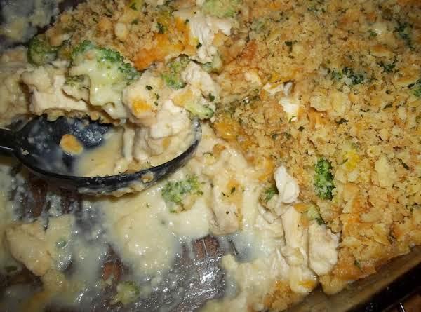 Cheesy Broccoli Chicken Bake - Cass's