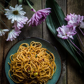 Super Simple Spicy And Tangy Noodles.