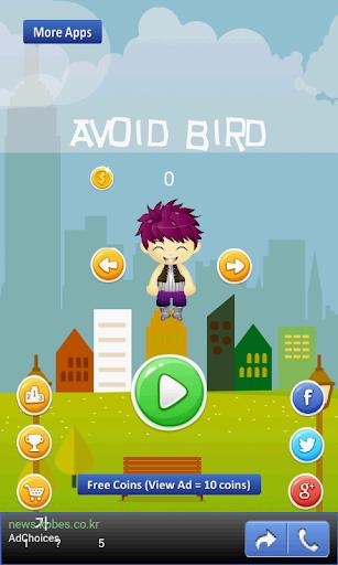Avoid Bird - avoid angry bird