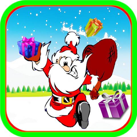 android Super Santa Run Christmas Screenshot 1
