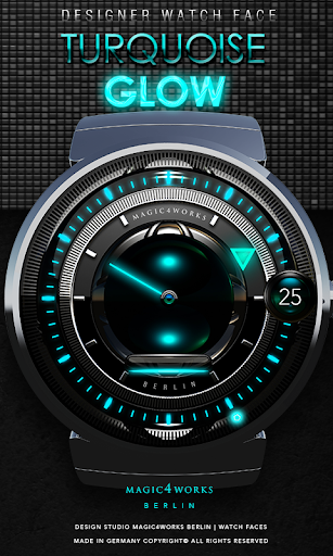 Turquoise Magic Watch Face